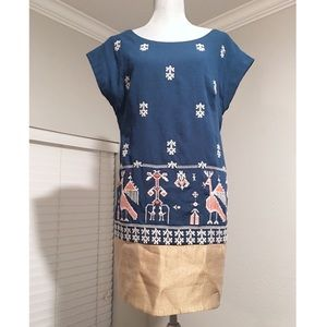 Anthropologie Floreat Dress Size 8